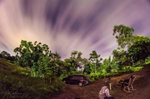Noite de observação em Guarabira