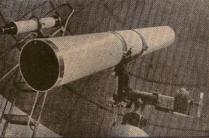 Telescópio do antigo Observatório Astronômico da Paraíba