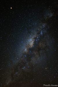 A Via Láctea - Foto: Priscila Hawana