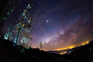 Céu do alto do Pico do Javre - Foto: Allysson Macário
